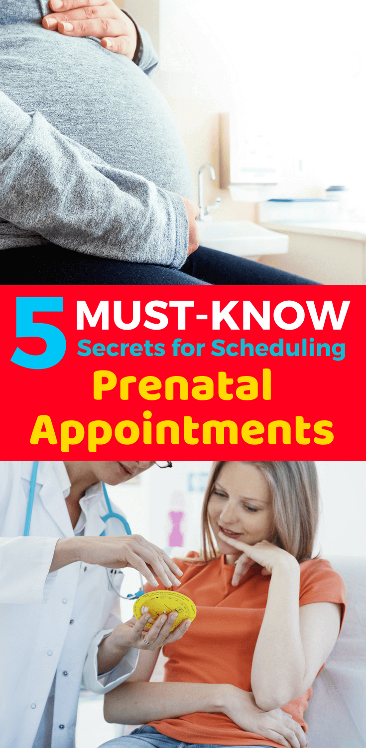 5 Must-Know Tips For Scheduling Prenatal Visits ...