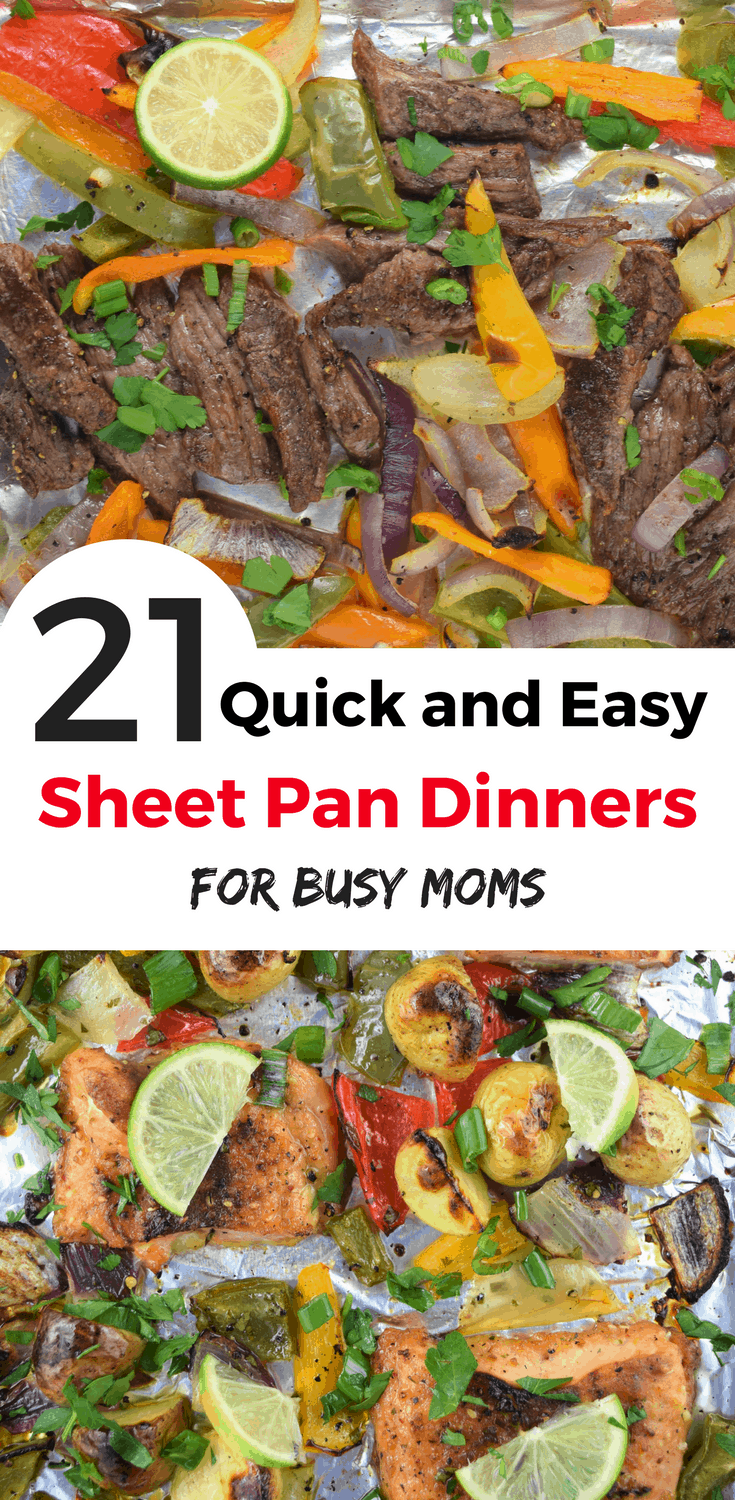 21 Quick And Easy Sheet Pan Dinners Maternity Comfort
